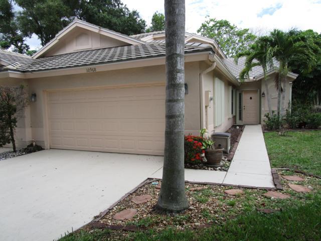 10968 Stafford Circle S, Boynton Beach, FL 33436 (MLS #RX-10537428) :: Berkshire Hathaway HomeServices EWM Realty