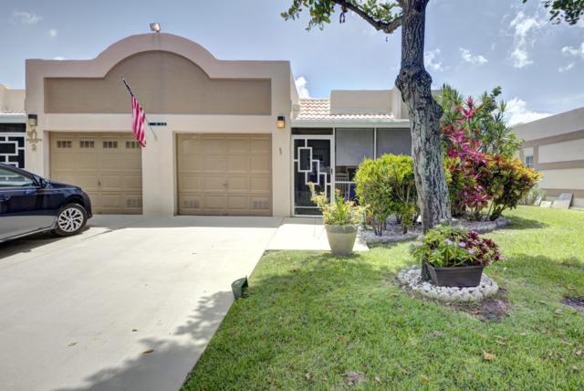 18900 Stewart Circle #1, Boca Raton, FL 33496 (MLS #RX-10538201) :: EWM Realty International