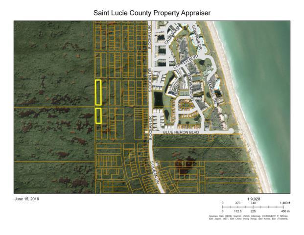 Xxxx S Ocean Drive, Hutchinson Island, FL 34949 (#RX-10539028) :: Ryan Jennings Group