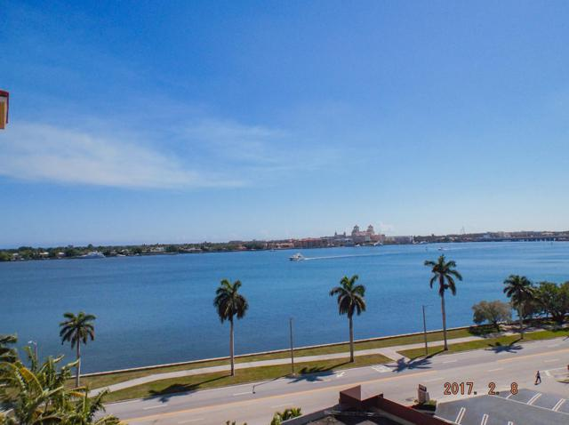 1801 N Flagler Drive #808, West Palm Beach, FL 33407 (MLS #RX-10540106) :: Castelli Real Estate Services