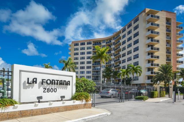 2800 N Flagler Drive #711, West Palm Beach, FL 33407 (MLS #RX-10540380) :: Berkshire Hathaway HomeServices EWM Realty