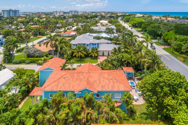 1002 S Ocean Boulevard, Delray Beach, FL 33483 (MLS #RX-10541095) :: Berkshire Hathaway HomeServices EWM Realty