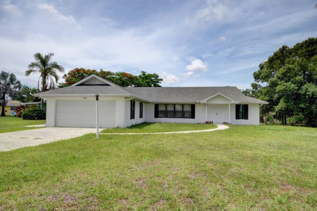 600 SW Willows Avenue, Port Saint Lucie, FL 34952 (#RX-10541565) :: Weichert, Realtors® - True Quality Service