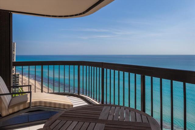 5380 N Ocean Drive 19F, Riviera Beach, FL 33404 (#RX-10542685) :: Ryan Jennings Group