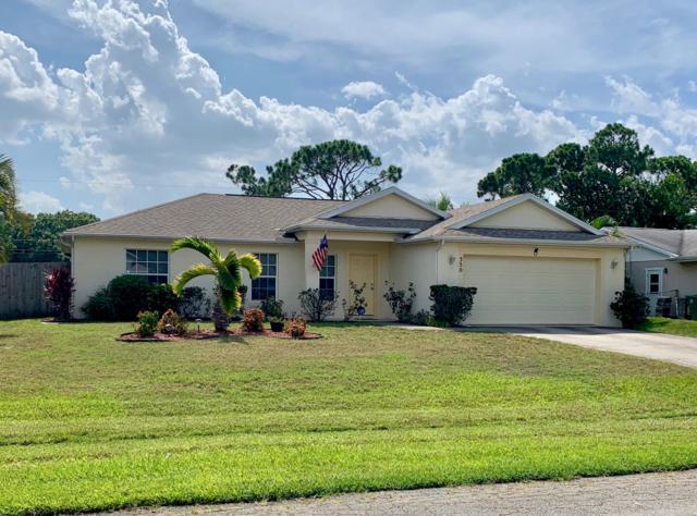 350 NW Friar Street, Port Saint Lucie, FL 34983 (MLS #RX-10542759) :: Berkshire Hathaway HomeServices EWM Realty