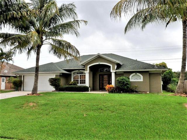 3421 SE Bevil Avenue, Port Saint Lucie, FL 34984 (MLS #RX-10543308) :: Berkshire Hathaway HomeServices EWM Realty