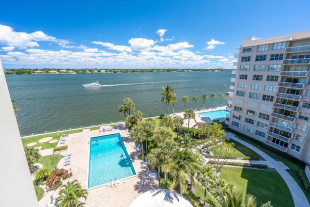 2800 N Flagler Drive #801, West Palm Beach, FL 33407 (MLS #RX-10543714) :: Berkshire Hathaway HomeServices EWM Realty
