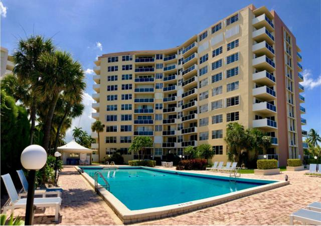 2800 N Flagler Drive #701, West Palm Beach, FL 33407 (MLS #RX-10543896) :: Berkshire Hathaway HomeServices EWM Realty
