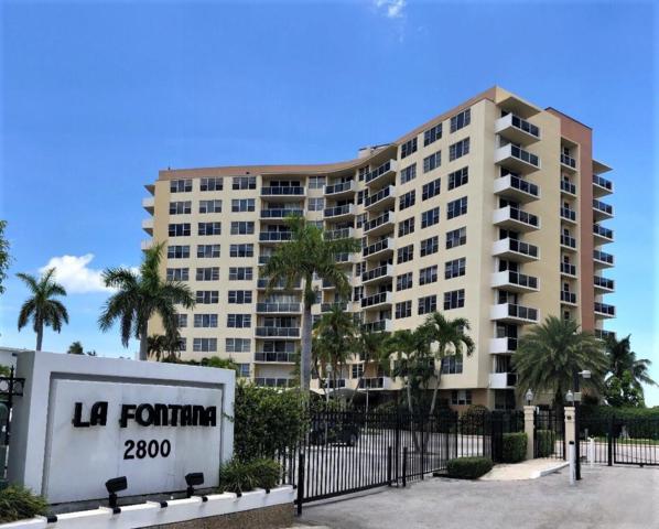 2800 N Flagler Drive #703, West Palm Beach, FL 33407 (MLS #RX-10543906) :: Berkshire Hathaway HomeServices EWM Realty
