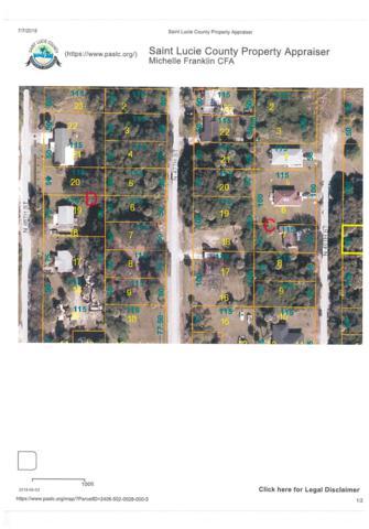 46 N 46th Street, Fort Pierce, FL 34946 (#RX-10544970) :: Ryan Jennings Group