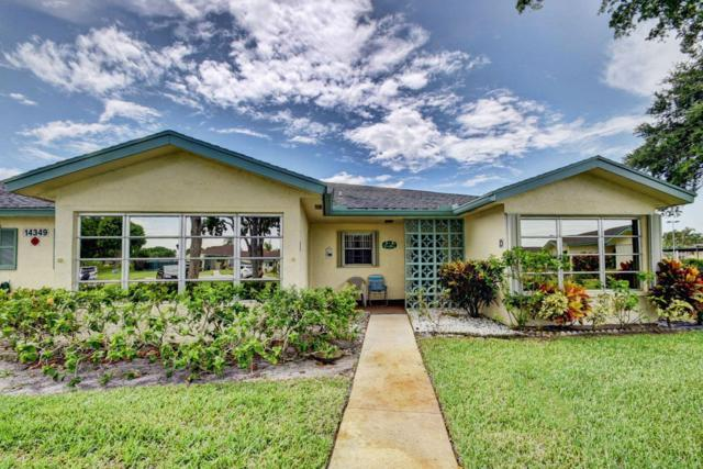 14349 Canalview Drive D, Delray Beach, FL 33484 (MLS #RX-10545312) :: The Paiz Group