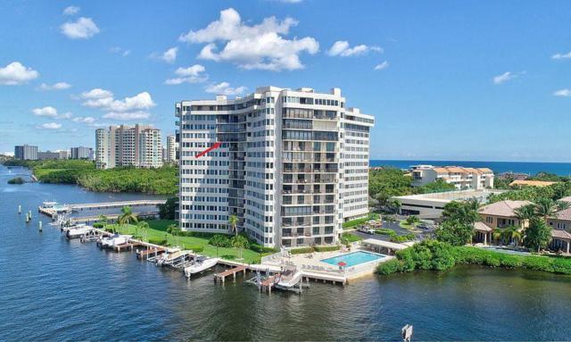 3912 S Ocean Boulevard #1111, Highland Beach, FL 33487 (MLS #RX-10545554) :: Berkshire Hathaway HomeServices EWM Realty