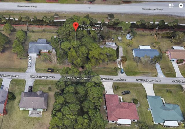 149 SW Fairway Avenue, Port Saint Lucie, FL 34983 (#RX-10545755) :: Ryan Jennings Group