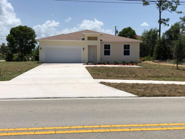 3650 SW Savona Boulevard, Port Saint Lucie, FL 34953 (MLS #RX-10546334) :: Berkshire Hathaway HomeServices EWM Realty