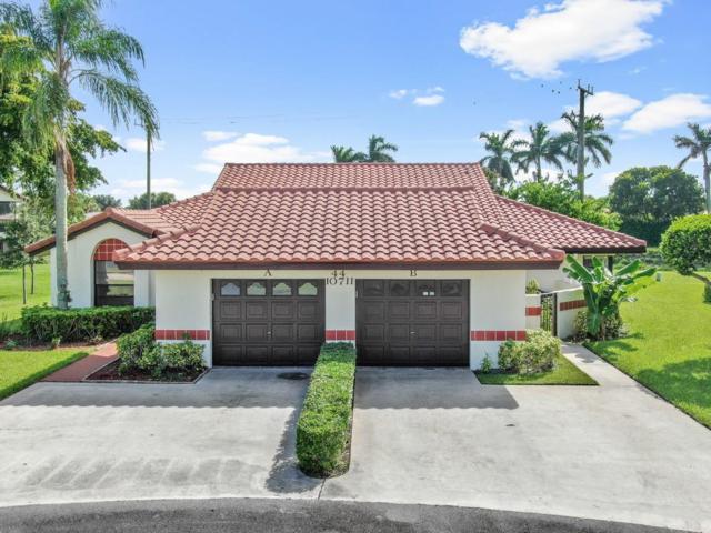 10711 Palm Leaf Drive B, Boynton Beach, FL 33437 (MLS #RX-10546550) :: Berkshire Hathaway HomeServices EWM Realty