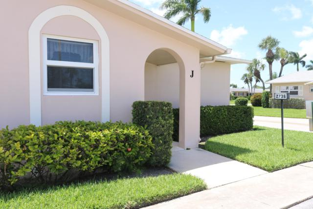 2736 Dudley Drive E #J, West Palm Beach, FL 33415 (MLS #RX-10547009) :: Berkshire Hathaway HomeServices EWM Realty