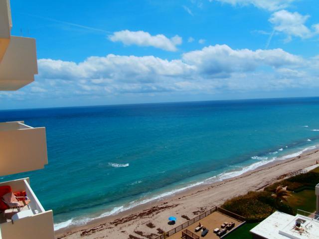 4511 S Ocean Boulevard 1003 Penthse, Highland Beach, FL 33487 (#RX-10547496) :: Ryan Jennings Group