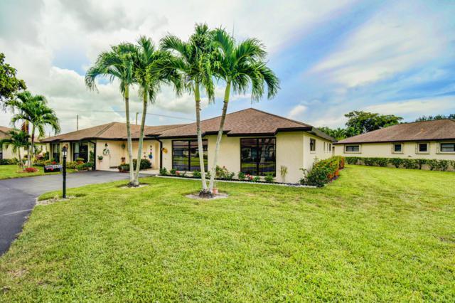 4850 Hawkwood Place B, Boynton Beach, FL 33436 (MLS #RX-10547655) :: Berkshire Hathaway HomeServices EWM Realty