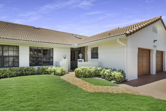 9747 Pavarotti Terrace #103, Boynton Beach, FL 33437 (#RX-10548653) :: Ryan Jennings Group