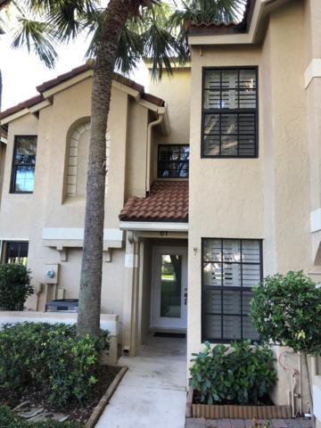 2299 Treasure Isle Drive A61, Palm Beach Gardens, FL 33410 (MLS #RX-10548738) :: The Paiz Group