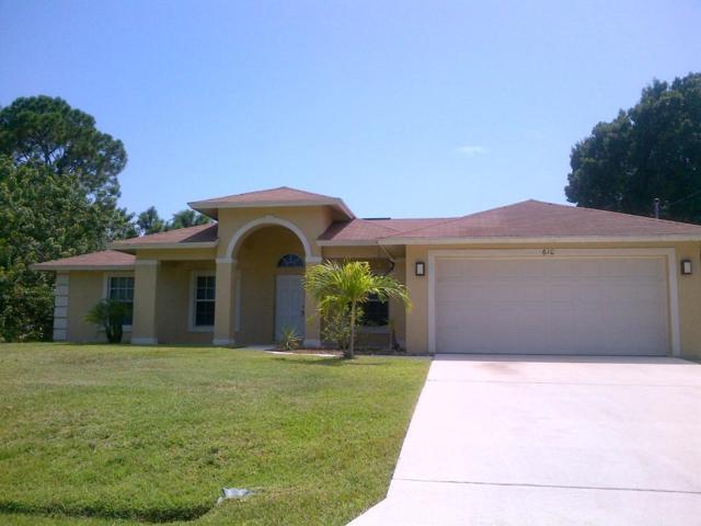 610 SW Sansom Lane, Port Saint Lucie, FL 34953 (#RX-10549072) :: Ryan Jennings Group