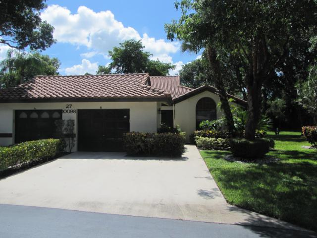 10098 Andrea Lane B, Boynton Beach, FL 33437 (MLS #RX-10549605) :: The Paiz Group