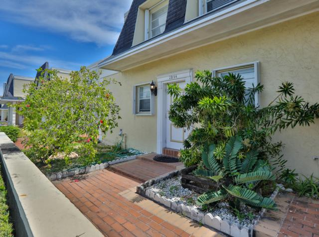 2314 NE 7th Street #32, Hallandale Beach, FL 33009 (MLS #RX-10549800) :: Castelli Real Estate Services