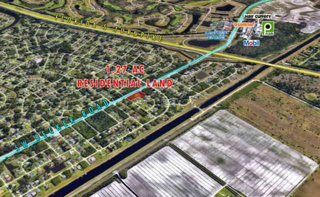 174 SW Becker Road, Port Saint Lucie, FL 34953 (#RX-10550670) :: The Reynolds Team/ONE Sotheby's International Realty
