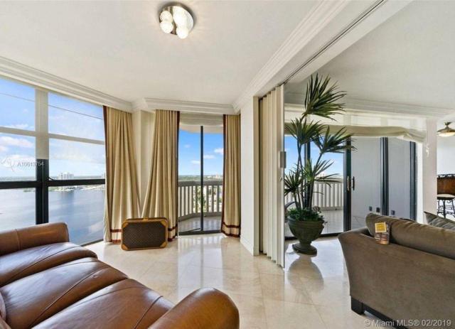 1000 W Island Boulevard #2711, Aventura, FL 33160 (MLS #RX-10550750) :: Castelli Real Estate Services
