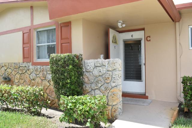2981 Crosley Drive W C, West Palm Beach, FL 33415 (MLS #RX-10550782) :: Berkshire Hathaway HomeServices EWM Realty