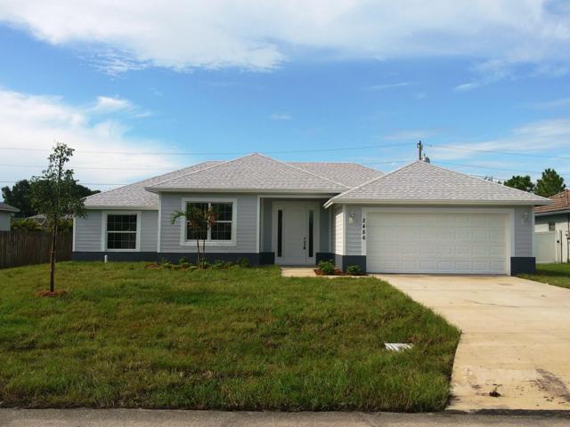 2486 SW Lamb Avenue, Port Saint Lucie, FL 34953 (#RX-10551408) :: Weichert, Realtors® - True Quality Service