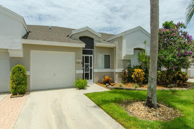 9148 Vineland Court B, Boca Raton, FL 33496 (#RX-10551718) :: Weichert, Realtors® - True Quality Service