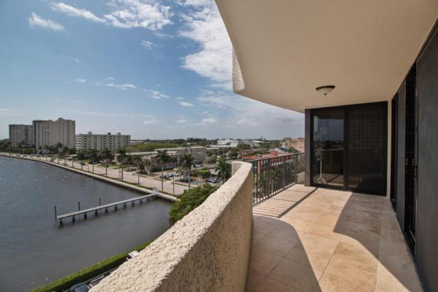 1200 S Flagler Drive #805, West Palm Beach, FL 33401 (#RX-10551753) :: Ryan Jennings Group