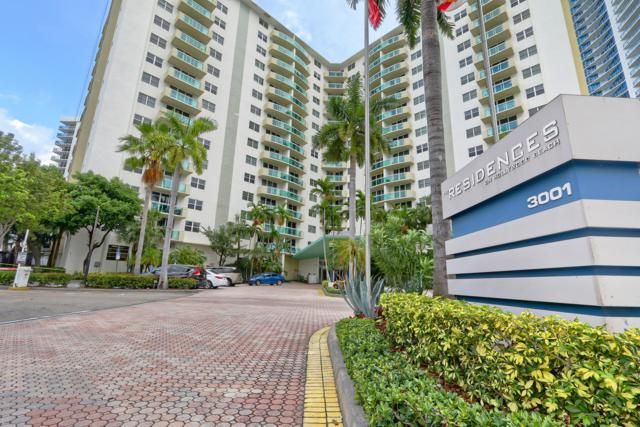3001 S Ocean Drive #201, Hollywood, FL 33019 (MLS #RX-10551919) :: Castelli Real Estate Services