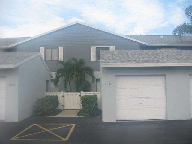 2641 Gately Drive #2005, West Palm Beach, FL 33415 (#RX-10551963) :: Weichert, Realtors® - True Quality Service