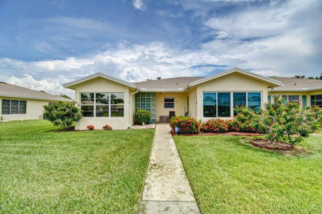 5361 Lakefront Boulevard A, Delray Beach, FL 33484 (MLS #RX-10552012) :: The Paiz Group