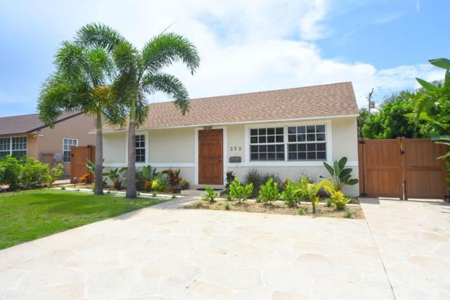 252 Beverly Road, West Palm Beach, FL 33405 (MLS #RX-10552230) :: Berkshire Hathaway HomeServices EWM Realty