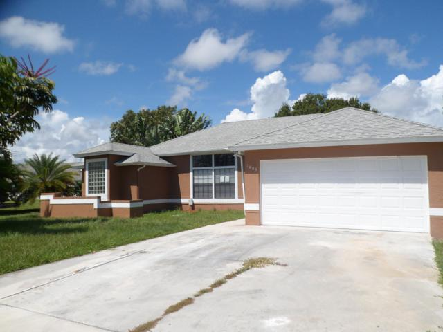 1685 SE Dome Circle, Port Saint Lucie, FL 34952 (MLS #RX-10552341) :: Berkshire Hathaway HomeServices EWM Realty