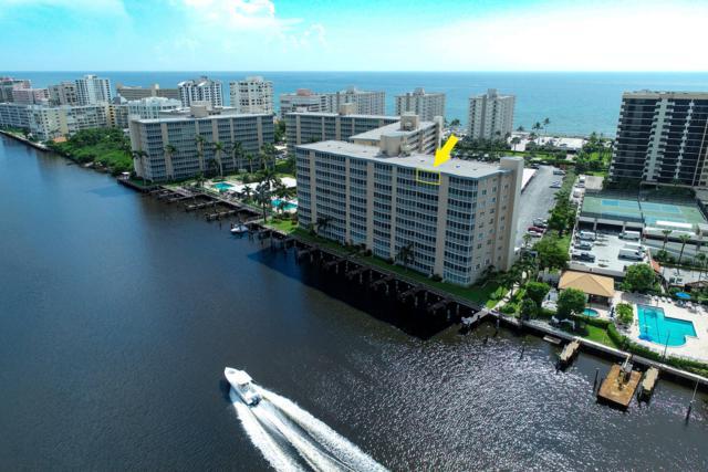 3310 S Ocean Boulevard 1031-D, Highland Beach, FL 33487 (#RX-10553015) :: Ryan Jennings Group