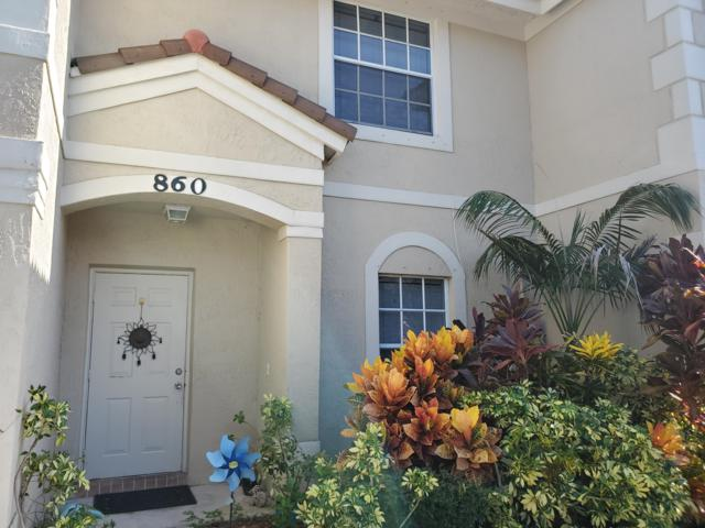 860 Summit Lake Drive, West Palm Beach, FL 33406 (#RX-10553347) :: Weichert, Realtors® - True Quality Service
