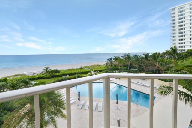 550 S Ocean Boulevard #408, Boca Raton, FL 33432 (MLS #RX-10553789) :: Berkshire Hathaway HomeServices EWM Realty