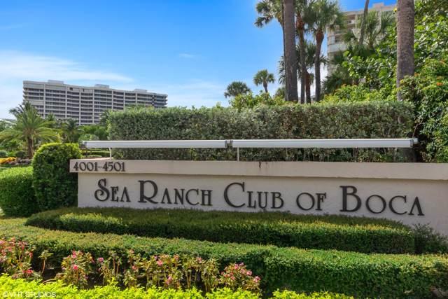 4201 N Ocean Boulevard C401, Boca Raton, FL 33431 (#RX-10557629) :: Ryan Jennings Group