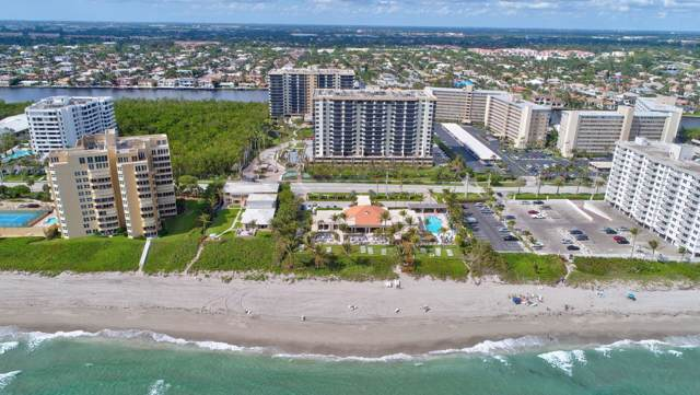 3420 S Ocean Boulevard 15N, Highland Beach, FL 33487 (MLS #RX-10558186) :: Castelli Real Estate Services