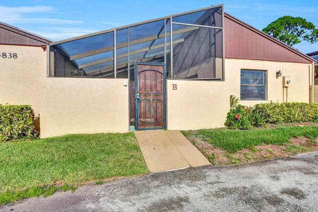 4838 Sunny Palm Circle B, West Palm Beach, FL 33415 (#RX-10559175) :: Weichert, Realtors® - True Quality Service