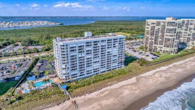9600 S Ocean Drive #302, Jensen Beach, FL 34957 (MLS #RX-10559284) :: Castelli Real Estate Services