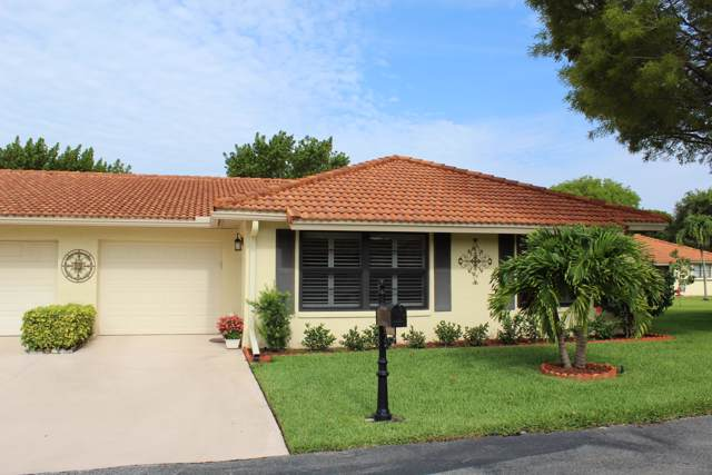 9955 Bauhinia Tree Way B, Boynton Beach, FL 33436 (#RX-10559437) :: Weichert, Realtors® - True Quality Service