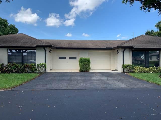 4863 Dovewood Terrace A, Boynton Beach, FL 33436 (#RX-10559522) :: Ryan Jennings Group
