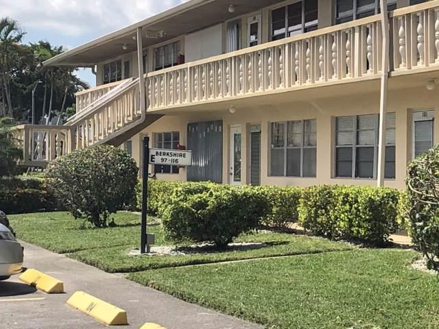 111 Berkshire E #111, West Palm Beach, FL 33417 (#RX-10559580) :: Ryan Jennings Group