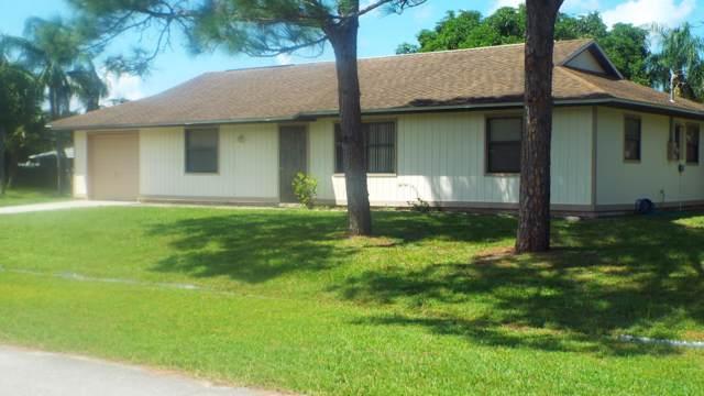 341 NW Billiar Avenue, Port Saint Lucie, FL 34983 (#RX-10559913) :: Ryan Jennings Group