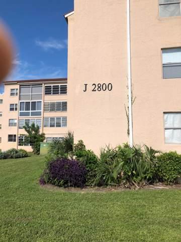 2800 Somerset Drive 214 J, Lauderdale Lakes, FL 33311 (#RX-10560150) :: Ryan Jennings Group